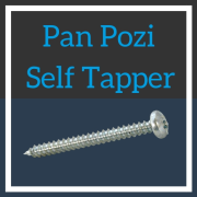 Image for Pan Head Pozi Self Tapper BZP