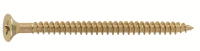 Image for GA6.0 Woodscrew-Single Thread Pozi Csk BZP & Yellow