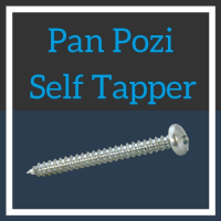 Image for No.10 Pan Head Pozi Self Tapper - BZP